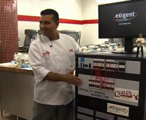 Cake Boss Shows Off IT Cake