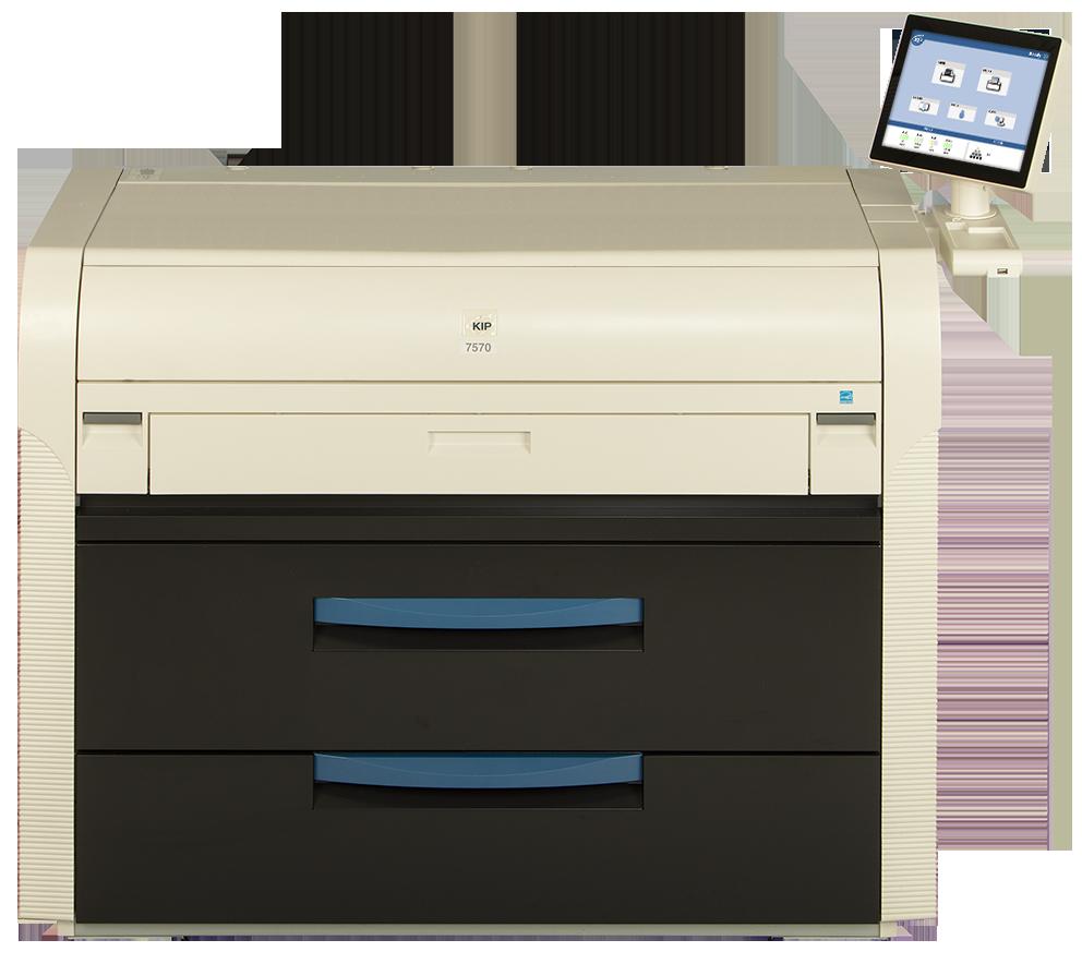 KIP 7570 printer
