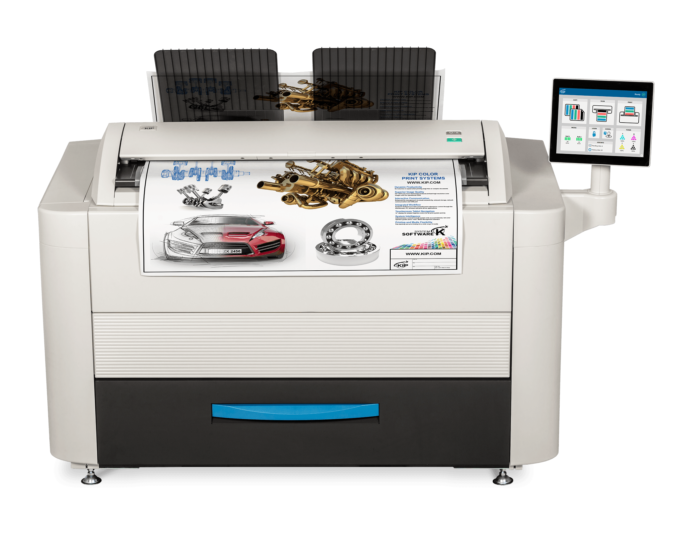 KIP 660 color printer